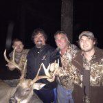 Matt, Bill, Dwayne and William Snyder after a successful hunt in Olla, LA.
